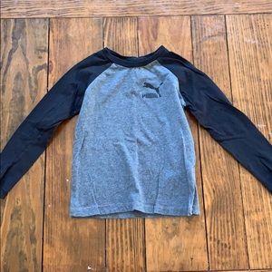 Long sleeved Puma shirt